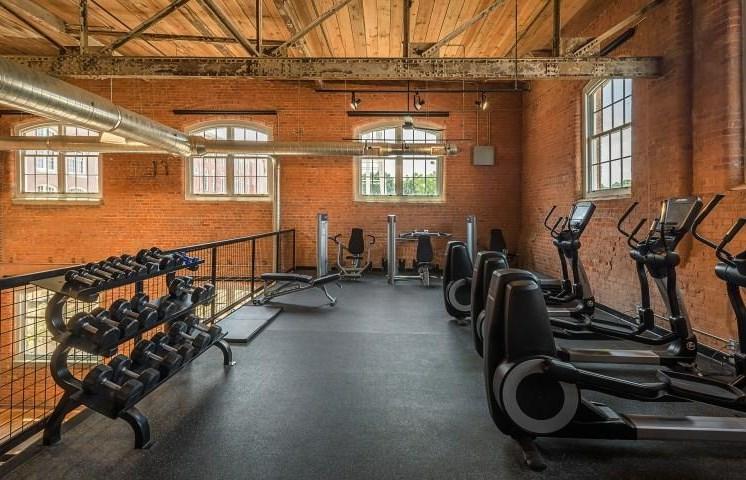 Drayton Mills Lofts Fitness Center